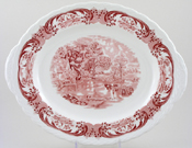 Meat Dish or Platter The Hay Wain c1950s