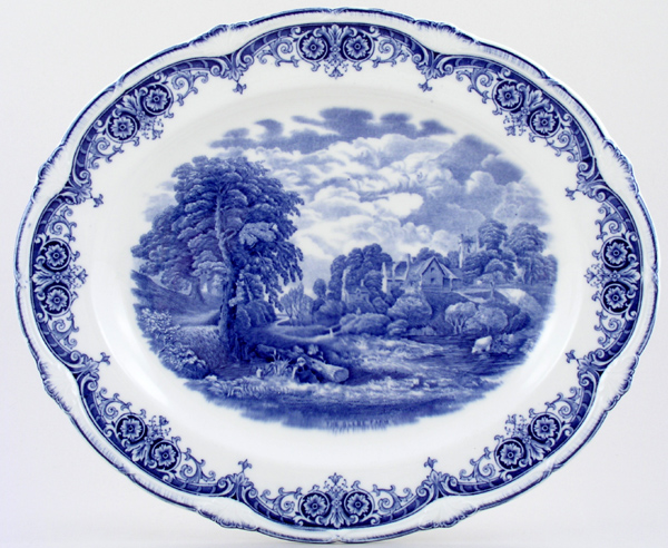 Grindley Scenes After Constable Meat Dish or Platter The Glebe Farm c1930s