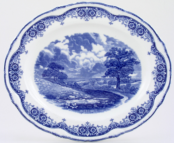 Grindley Scenes After Constable Meat Dish or Platter Noon c1930
