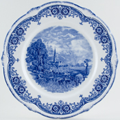 Grindley Scenes After Constable Plate Salisbury Cathedral c1930s