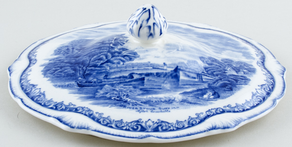 Grindley Scenes After Constable Vegetable Dish Cover only c1930s