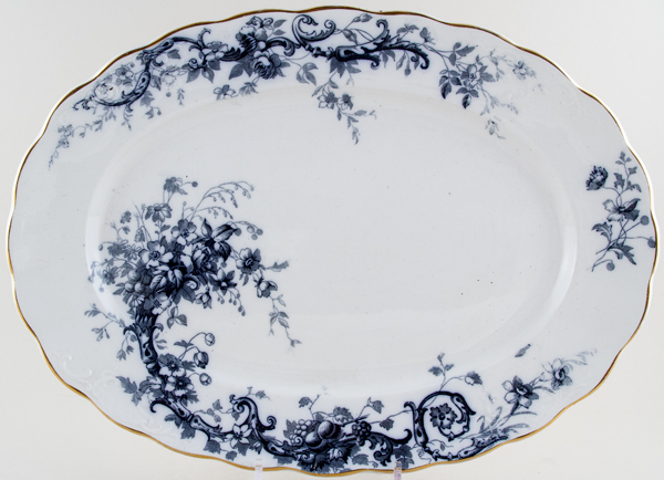 Hancock Sampson Ivanhoe Meat Dish or Platter c1910