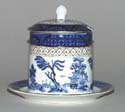 Jam or Preserve Pot with fixed stand c1930