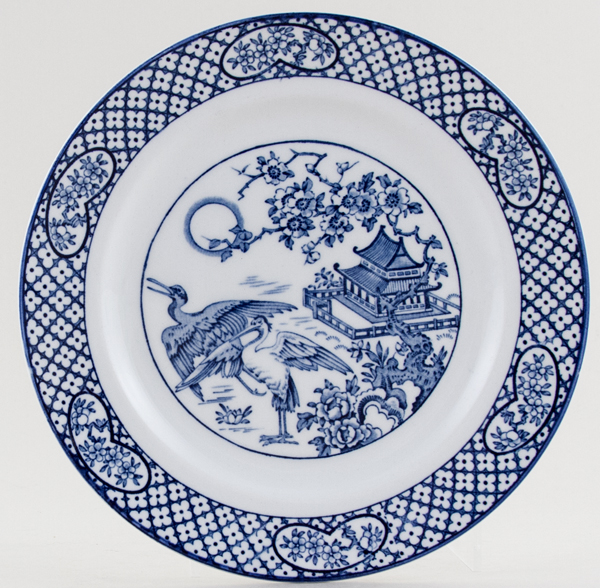 Woods Orient Plate 1928