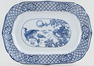 Hales Hancock and Godwin Orient Meat Dish or Platter c1930