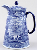 Hot Water Jug or Pitcher c1920
