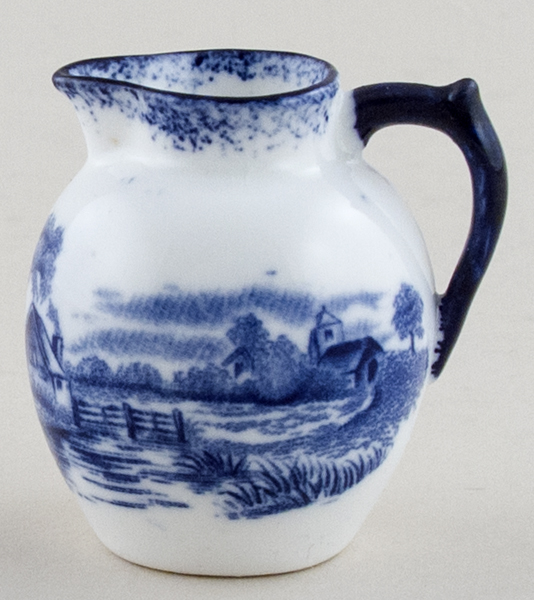 Hughes Unidentified Pattern Miniature Jug c1910