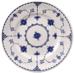 Johnson Bros Blue Denmark Side or Cheese Plate