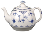 Johnson Bros Blue Denmark Teapot
