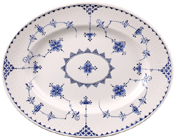 Johnson Bros Blue Denmark Meat Dish or Platter