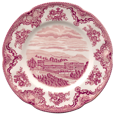Johnson Bros Old Britain Castles pink Salad or Dessert Plate