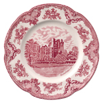 Johnson Bros Old Britain Castles pink Dinner Plate