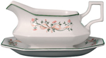 Johnson Bros Eternal Beau colour Sauce Boat & Stand