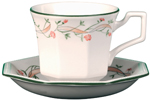Johnson Bros Eternal Beau colour Teacup & Saucer