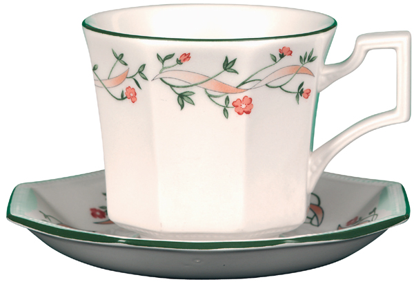 Johnson Bros Eternal Beau colour Breakfast Cup & Saucer