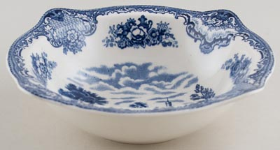 Johnson Bros Old Britain Castles Bowl c1930s