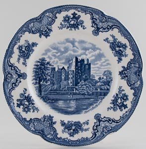 Johnson Bros Old Britain Castles Plate Blarney Castle c1970s