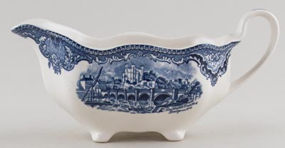 Johnson Bros Old Britain Castles Sauce Boat