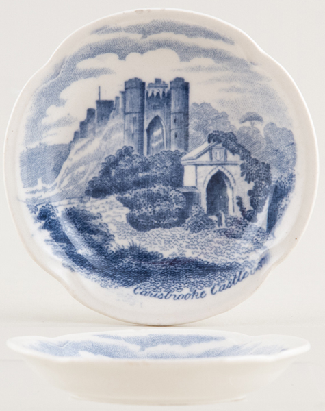 Johnson Bros Old Britain Castles Butter Pat c1950