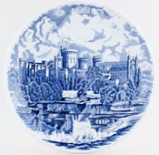 Johnson Bros Commemorative Series Plate Windsor Castle c1970