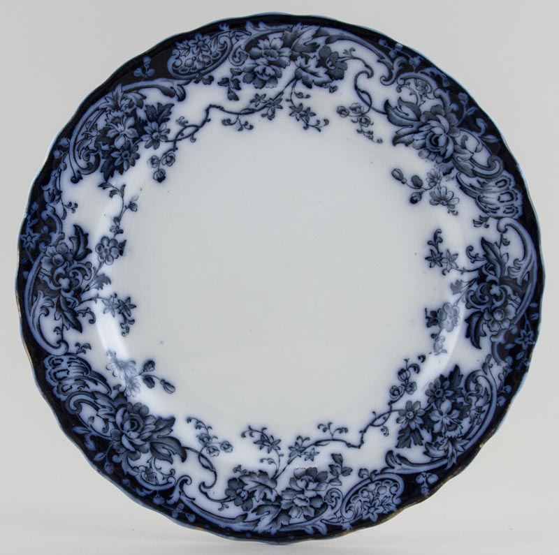 Keeling Chatsworth Plate c1880s