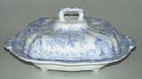 Vegetable Dish with Cover c1890