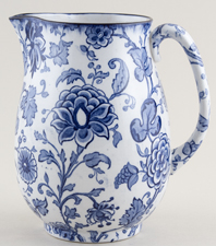 Keeling Jacobean Jug or Pitcher large c1920s