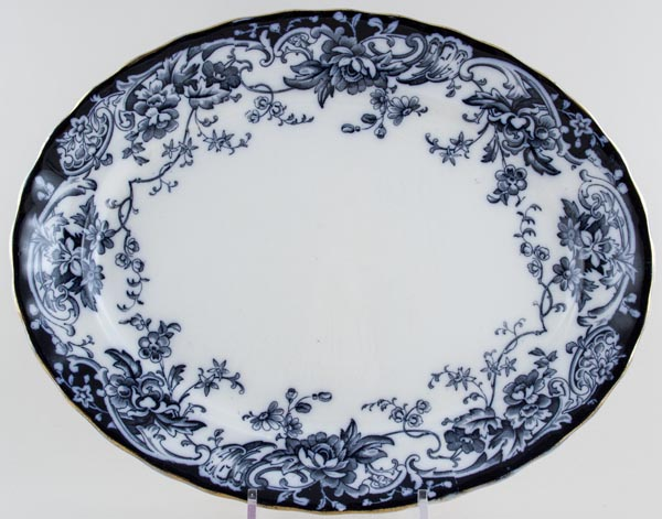 Keeling Chatsworth Meat Dish or Platter c1890s