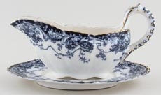 Sauce Boat and Stand c1887