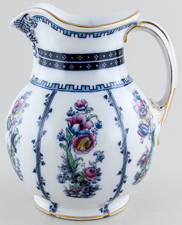Keeling Unidentified Pattern colour Ewer c1915