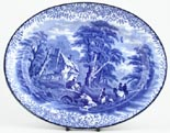 Meat Dish or Platter small c1920s