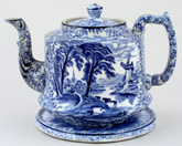 Teapot with Stand c1920s