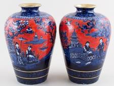 Vases Pair of c1920