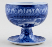 Sugar Bowl footed c1930