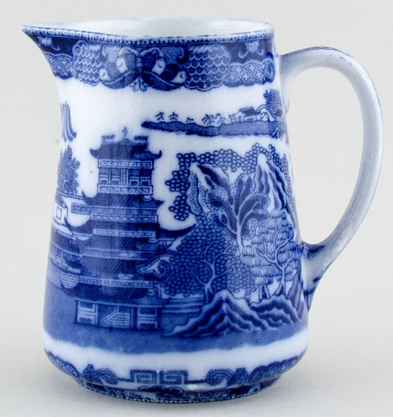 Maling Two Temples Jug or Pitcher c1920s