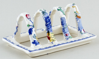 Masons Regency colour Toast Rack c1950s