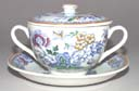 Breakfast Cup with Cover and Saucer c1930