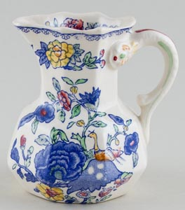 Masons Regency colour Jug or Pitcher c1930s