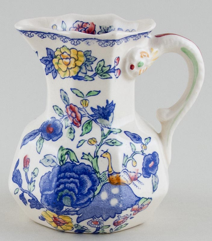 Masons Regency colour Jug or Pitcher Hydra c1930s