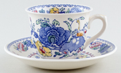 Masons Regency colour Teacup and Saucer