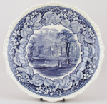 Plate Alton Towers c1920s