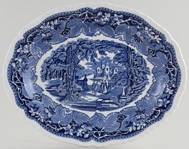 Masons Vista Meat Dish or Platter c1950s