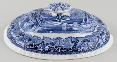 Masons Vista Soup Tureen Cover c1950s