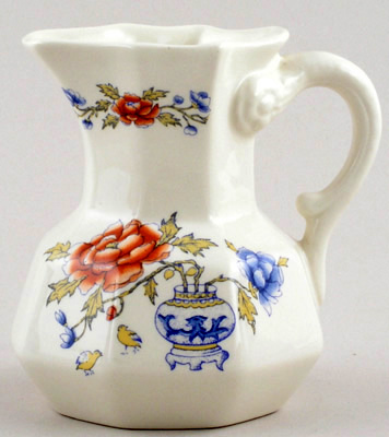 Masons Chinese Peony colour Creamer or Jug c1970s