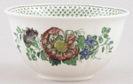 Masons Paynsley green with colour Sugar Bowl c1970s