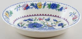 Masons Regency colour Bowl oval