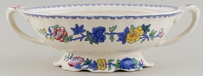 Masons Regency colour Vegetable Dish Base