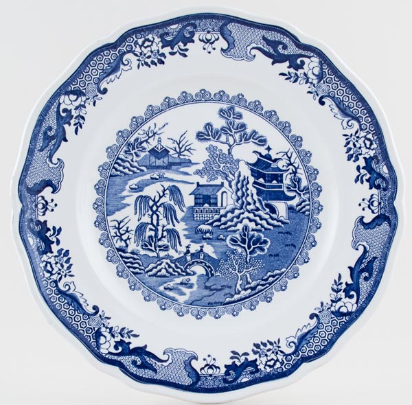 Masons Willow Plate c1970s