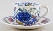 Masons Regency colour Coffee Cup and Saucer