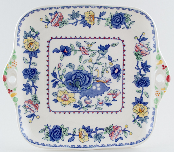 Masons Regency colour Bread and Butter or Cake Plate